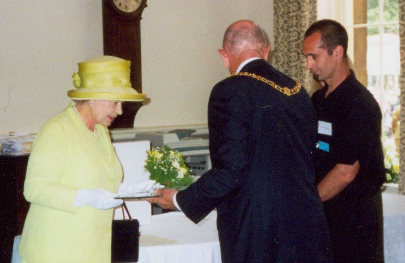 Presentation of commissioned bowl to HM Queen Elizabeth II